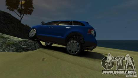 Ford Edge 2007 para GTA 4 left