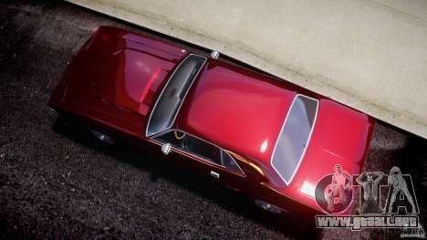 Dodge Challenger 1971 para GTA 4 visión correcta