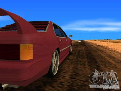 Sentrel Mini Tuning para GTA San Andreas vista posterior izquierda