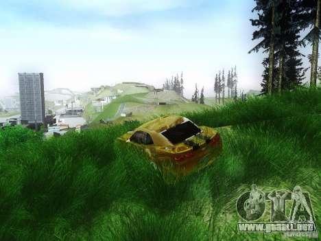 ENBSeries Beta para GTA San Andreas segunda pantalla