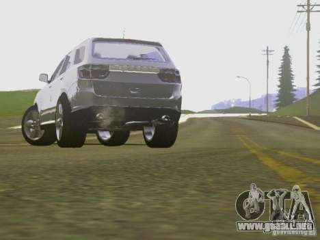 Dodge Durango 2012 para visión interna GTA San Andreas