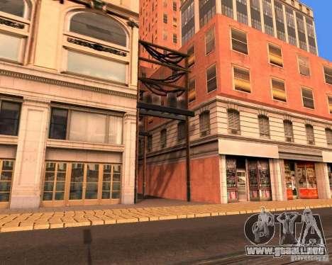 Real World ENBSeries v4.0 para GTA San Andreas quinta pantalla