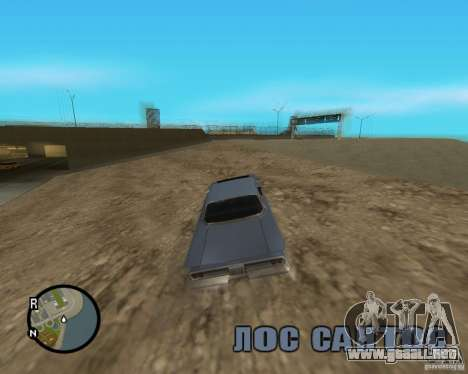 Detailed Map and Radar Mod para GTA San Andreas quinta pantalla