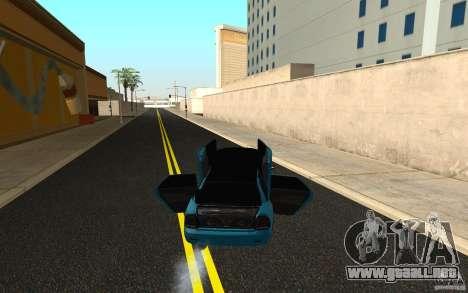 LADA 2170 Penza tuning para visión interna GTA San Andreas