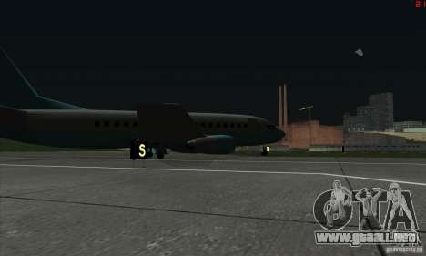 AT-400 en todos los aeropuertos para GTA San Andreas sexta pantalla