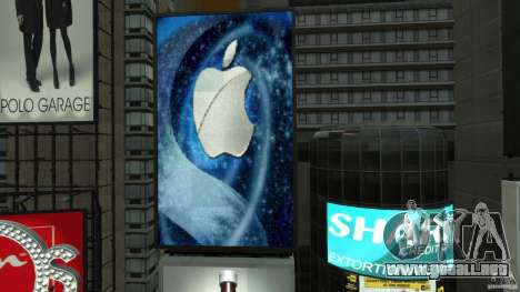 Time Square Mod para GTA 4 décima de pantalla