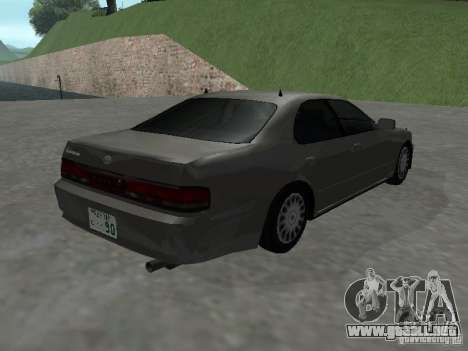 Toyota Cresta JZX 90 para GTA San Andreas vista posterior izquierda