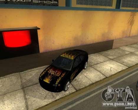Vauxhall Monaro para la visión correcta GTA San Andreas
