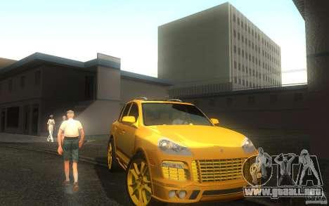 Porsche Cayenne gold para GTA San Andreas