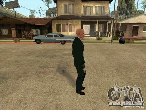 Hitman: Codename 47 para GTA San Andreas segunda pantalla