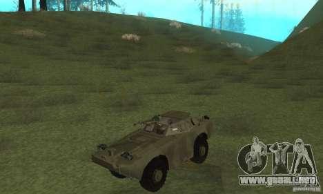 BRDM-1 piel 3 para GTA San Andreas left