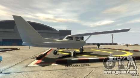 San Andreas Dodo para GTA 4 Vista posterior izquierda