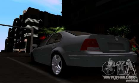 Volkswagen Bora 1.8T para GTA San Andreas left