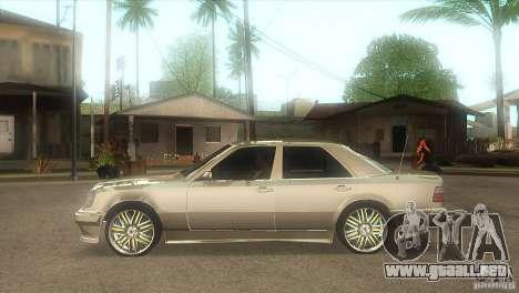 Mercedes-Benz E500 VIP Class para GTA San Andreas left