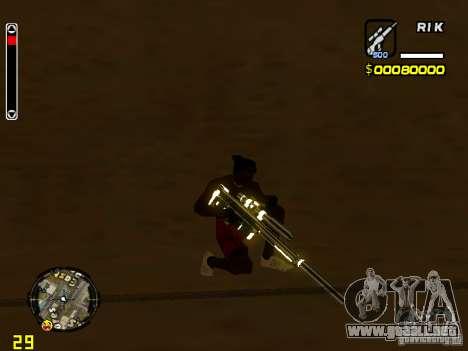 White and Black weapon pack para GTA San Andreas segunda pantalla