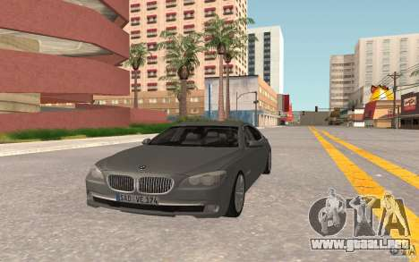 BMW 730d para GTA San Andreas