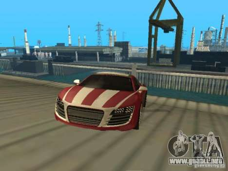 Audi R8 Le Mans NFS Carbon v2.0 para GTA San Andreas