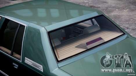 Buick Roadmaster Sedan 1996 v1.0 para GTA 4 ruedas