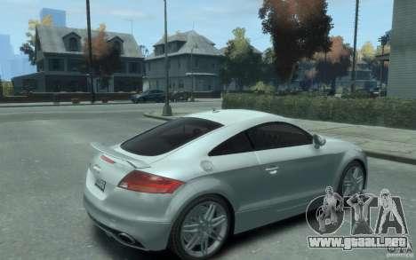 Audi TT-RS para GTA 4 visión correcta