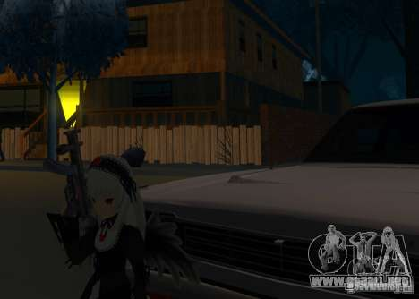 Anime Characters para GTA San Andreas segunda pantalla