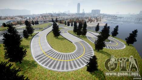 Edem Hill Drift Track para GTA 4 quinta pantalla