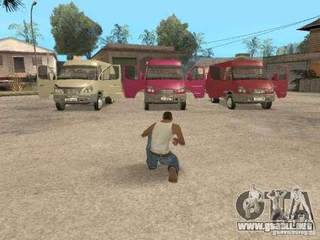 2705 Gacela para las ruedas de GTA San Andreas