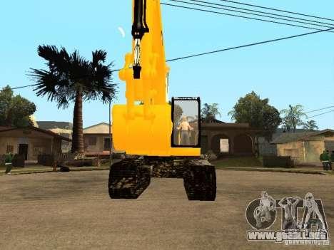 Excavadora CAT para la visión correcta GTA San Andreas