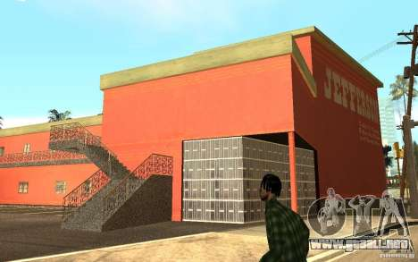 UGP Moscow New Jefferson Motel para GTA San Andreas sucesivamente de pantalla