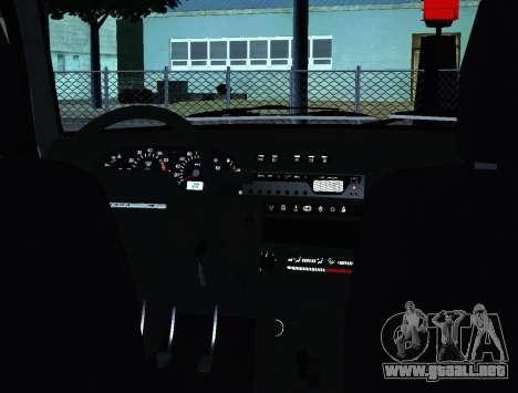 VAZ 2115 para visión interna GTA San Andreas
