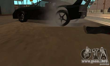 Kits Tuning deporte rueda para GTA San Andreas tercera pantalla