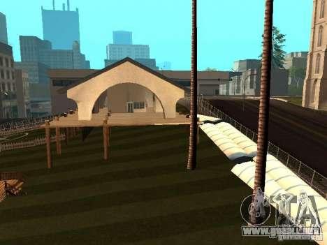 Villa en San Fierro para GTA San Andreas segunda pantalla