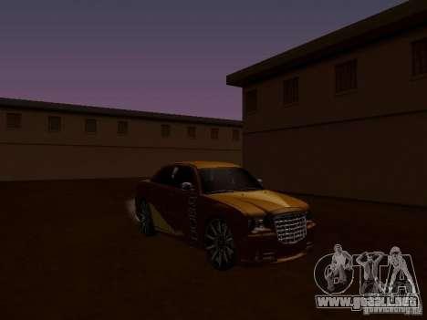 Chrysler 300 c SRT8 2007 para visión interna GTA San Andreas
