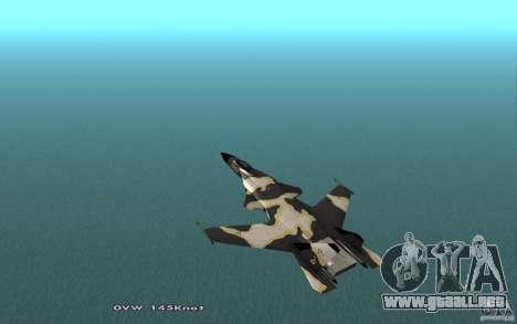 Su-32 Golden Eagle para GTA San Andreas