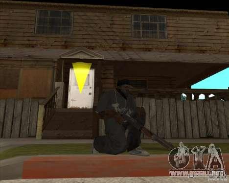Resident Evil 4 weapon pack para GTA San Andreas segunda pantalla