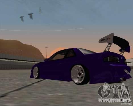Nissan Silvia S13 Nismo tuned para la visión correcta GTA San Andreas