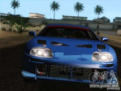 Toyota Supra TRD3000GT v2 para el motor de GTA San Andreas