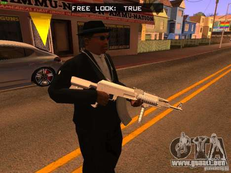 Sound pack for TeK pack para GTA San Andreas