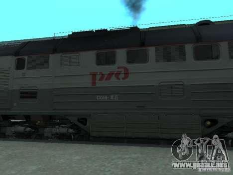 2te116 RZD para GTA San Andreas left