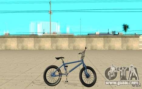 X-game BMX para GTA San Andreas left