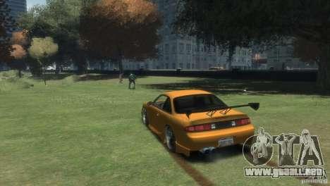NISSAN 200SX para GTA 4 left