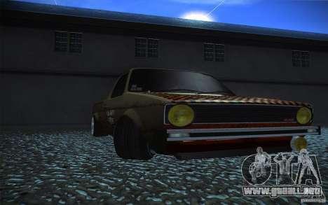 US Army Volkswagen Caddy para la visión correcta GTA San Andreas