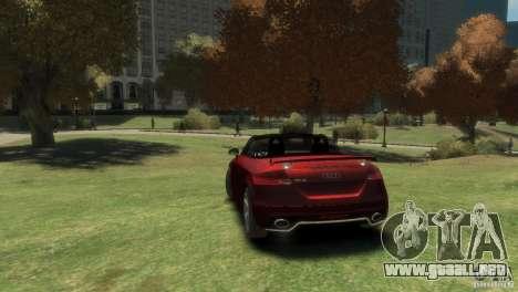 Audi TT RS Roadster para GTA 4 left