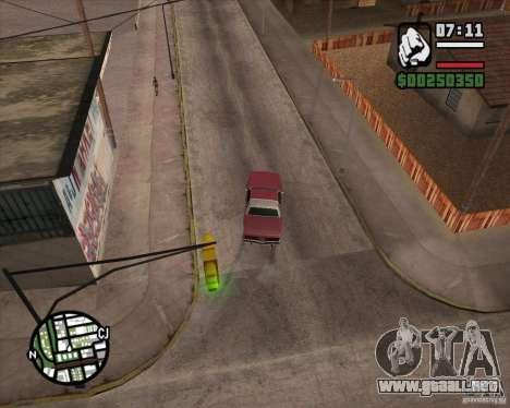 Cámara como en GTA Chinatown Wars para GTA San Andreas quinta pantalla