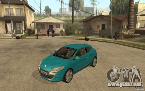Renault Megane 3 Coupe para GTA San Andreas