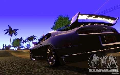 Toyota Supra Rz The bloody pearl 1998 para la visión correcta GTA San Andreas