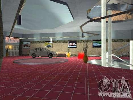 Auto VAZ para GTA San Andreas sucesivamente de pantalla