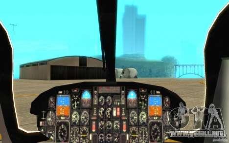 Eurocopter NYPD por SgtMartin_Riggs para visión interna GTA San Andreas