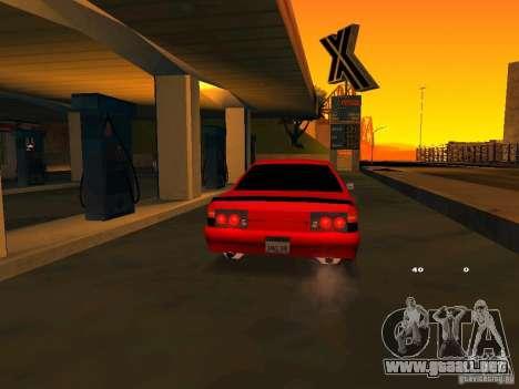 Previon GT para visión interna GTA San Andreas