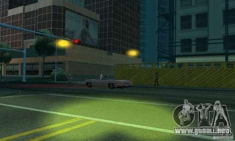 Faros amarillos para GTA San Andreas sexta pantalla