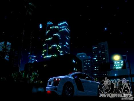 Cielo estrellado V 2.0 (un jugador) para GTA San Andreas tercera pantalla